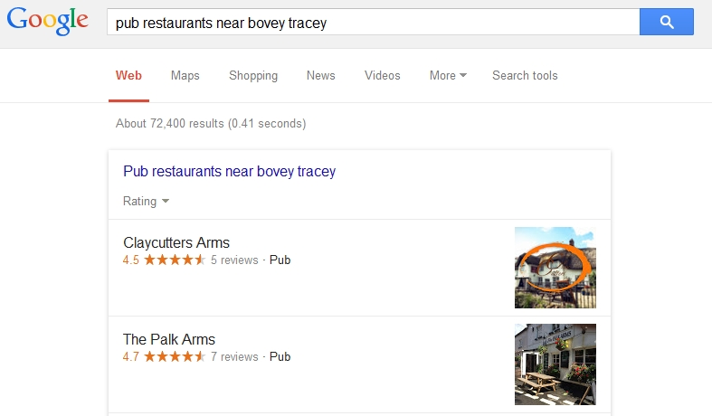 pub restaurants near bovey tracey