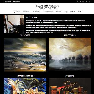 Elizabeth Williams Fine Art Painter Website