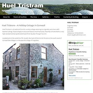 Huel Tristram Holiday Cottage in Cornwall