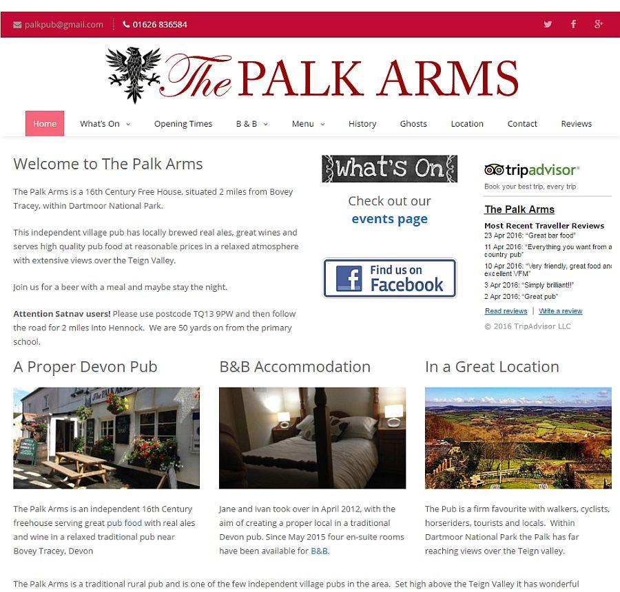 The Palk Arms A Traditional Devon Pub