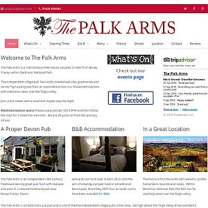 The Palk Arms Traditional Devon Pub Homepage